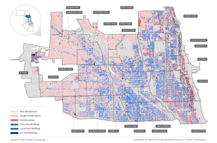 (Map / Institute for Housing Studies at DePaul University)
